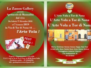 Cercasi partecipanti, espositori e artigiani per evento a Tor di Nona presso la Zanon Gallery